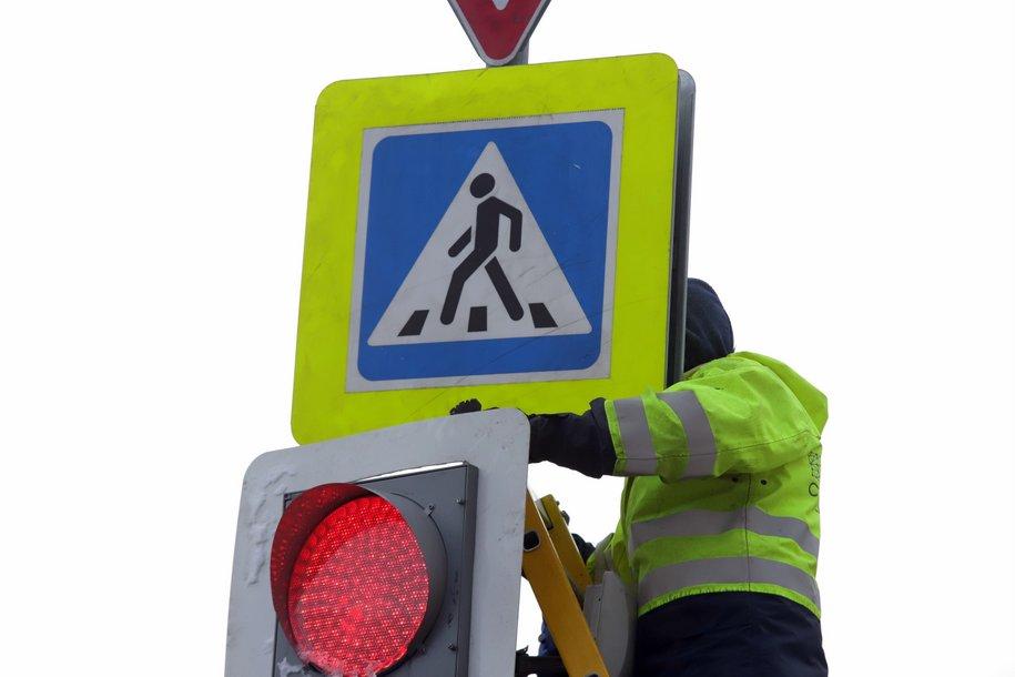 Затруднения на столичных дорогах оцениваются в шесть баллов