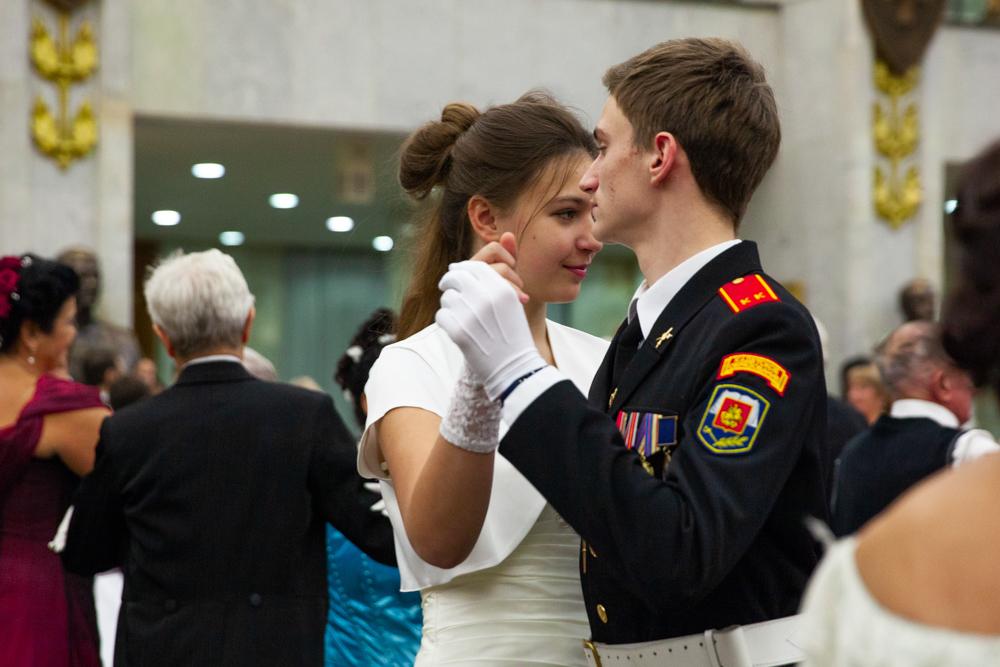 В Музее Победы прошел традиционный исторический бал