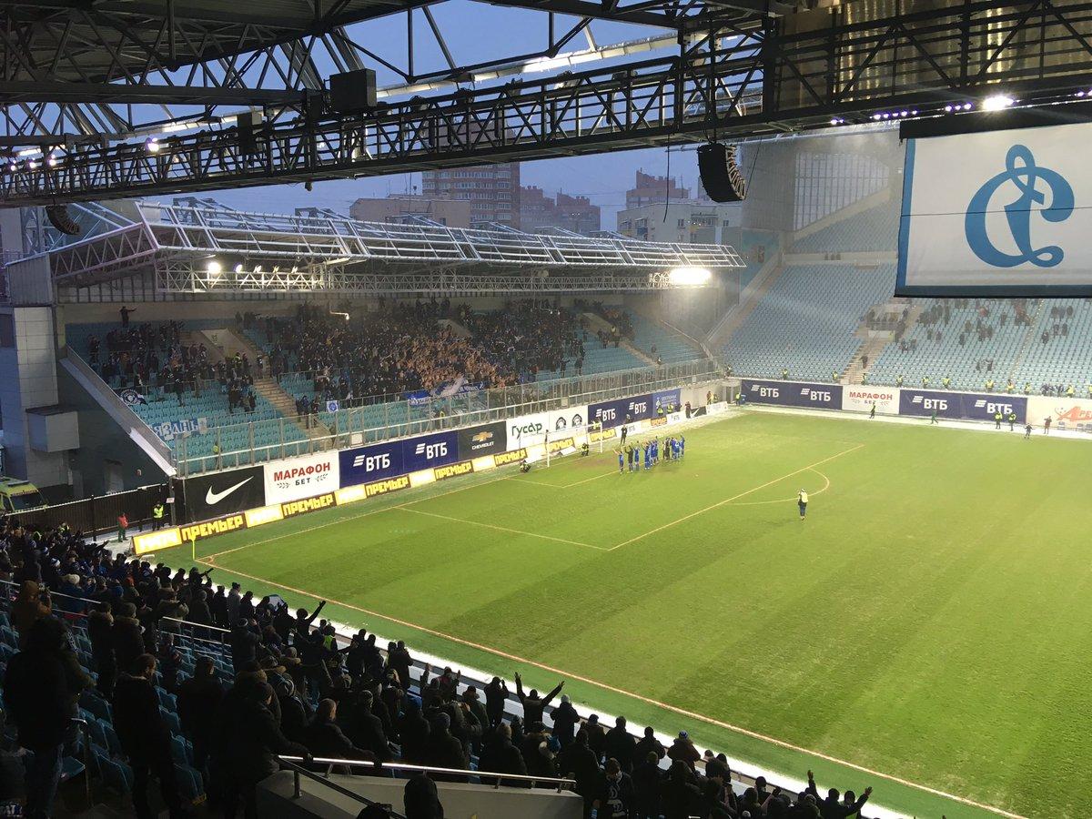 Футбольный клуб «Динамо» провел последний матч на «Арене Химки»