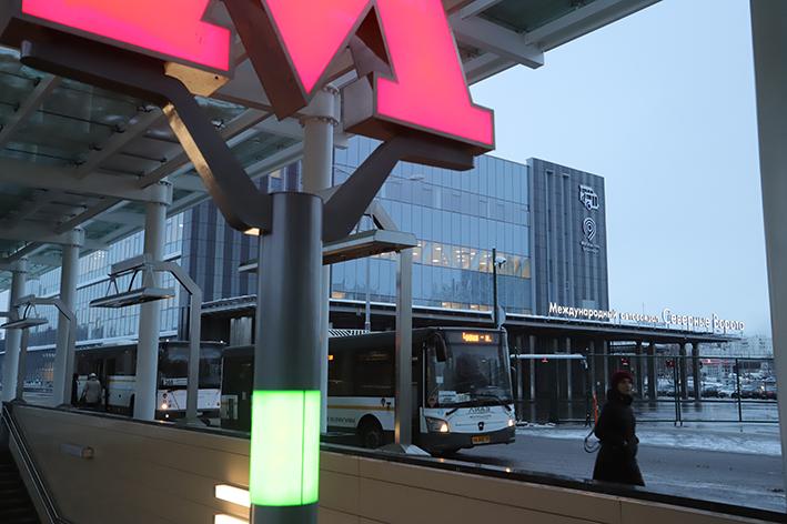 Автовокзал «Северные ворота» у метро «Ховрино»  начнет принимать международные рейсы в марте следующего года