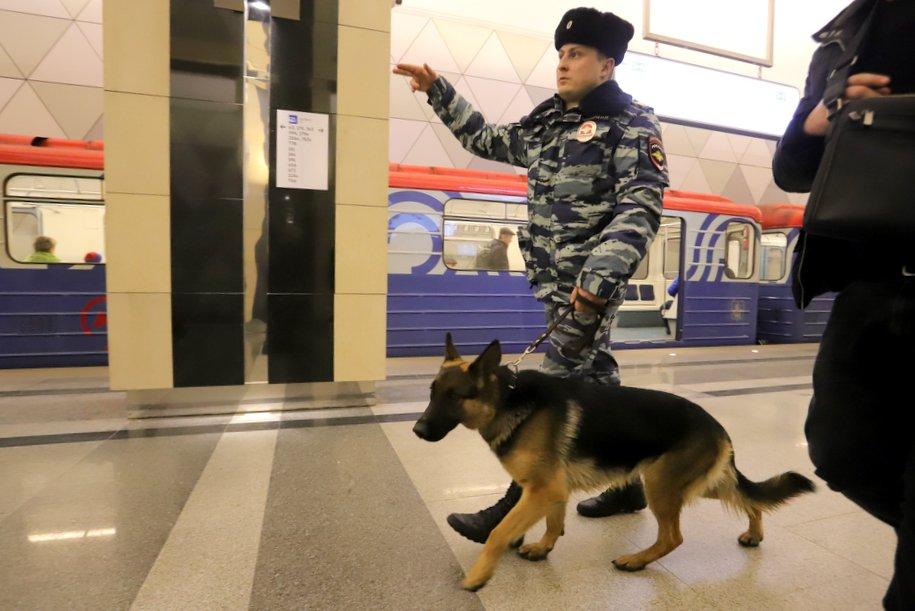 Пассажир московского метрополитена заплатит штраф в размере 20 тыс. рублей за отказ пройти досмотр