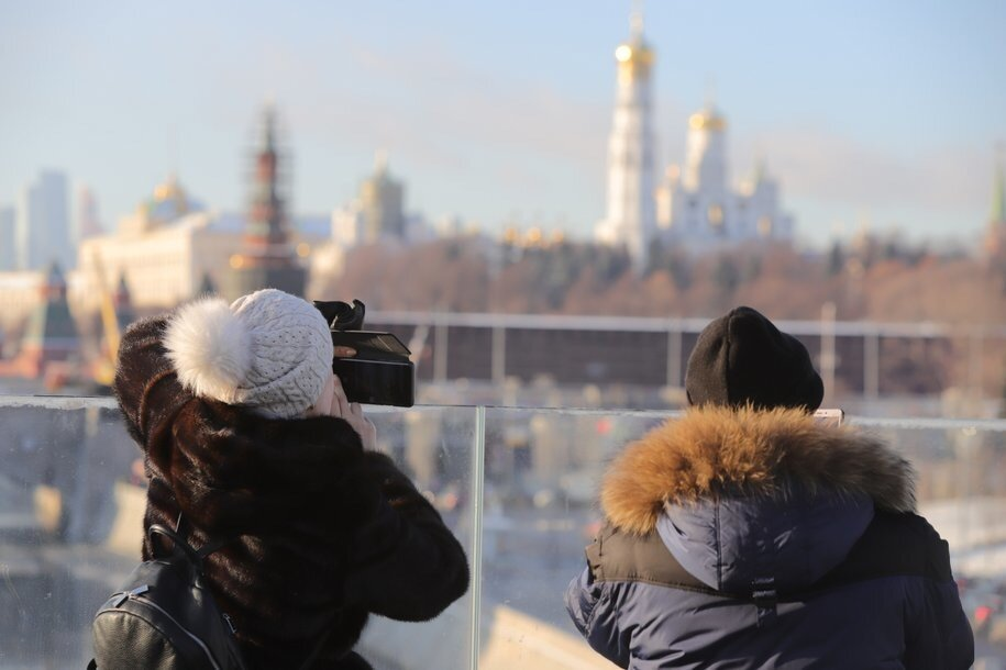 Сегодня в Москве ожидается облачная погода и до десяти градусов мороза