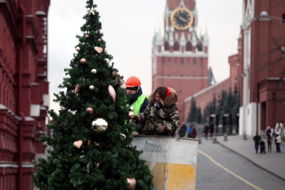 Московский Кремль и Мавзолей будут закрыты для посещения 26 декабря