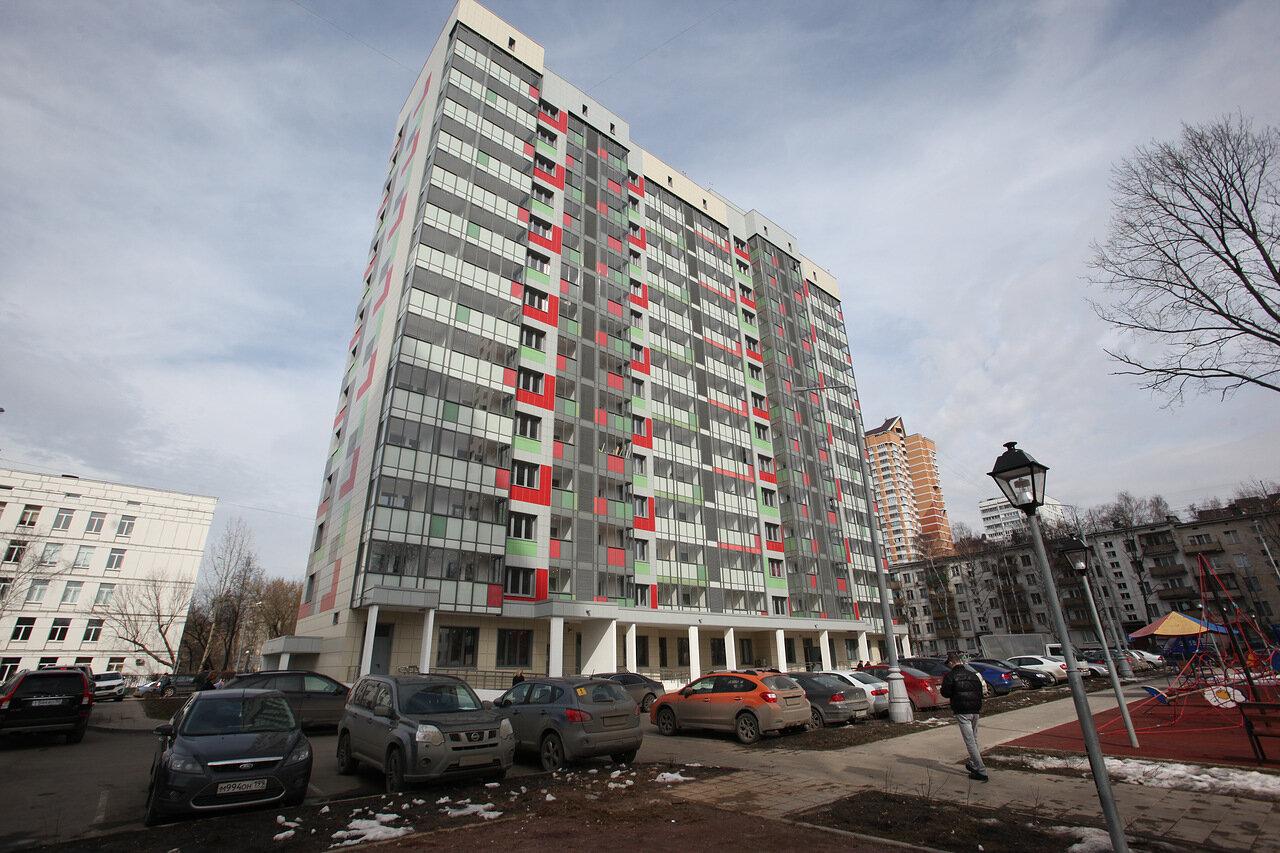 В Москве идет переселение из 30 домов по программе реновации