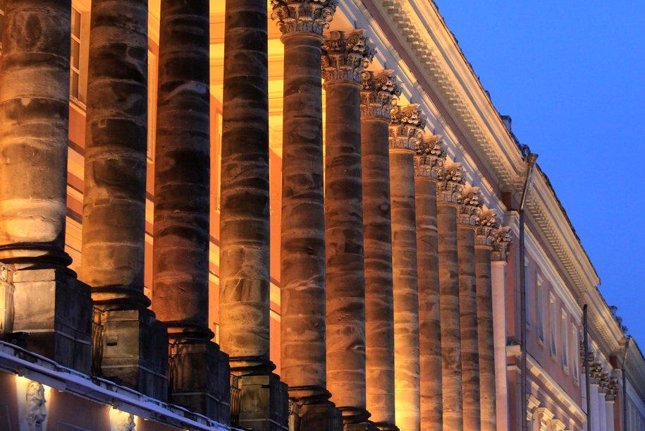 Фасад и интерьер Екатерининского дворца планируют отреставрировать