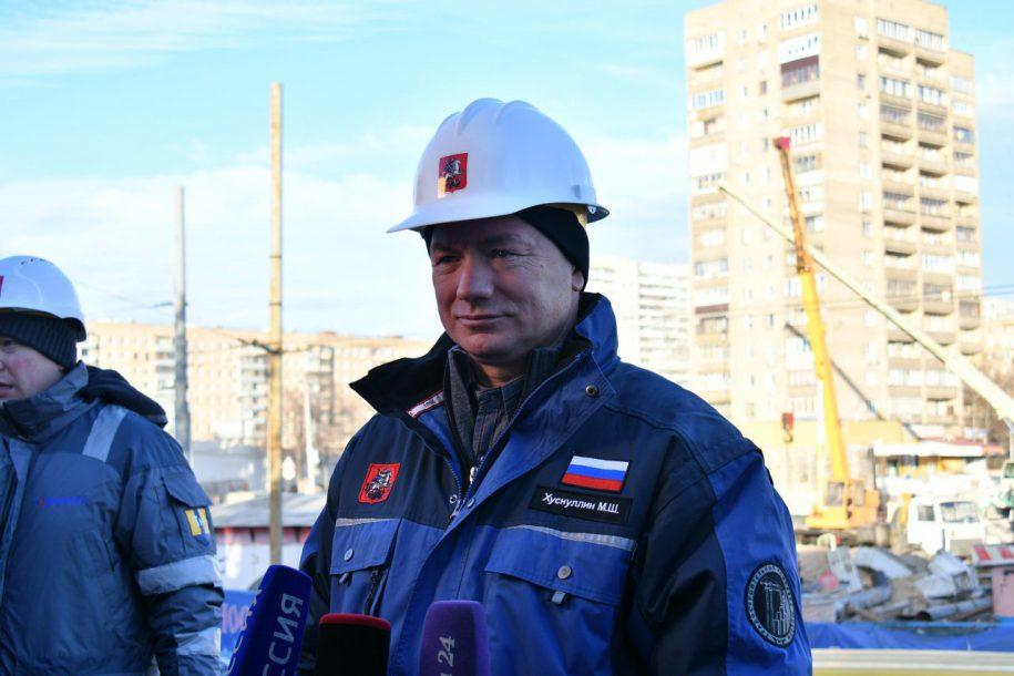 Станцию «Савёловская» БКЛ планируем открыть 30 декабря — Хуснуллин