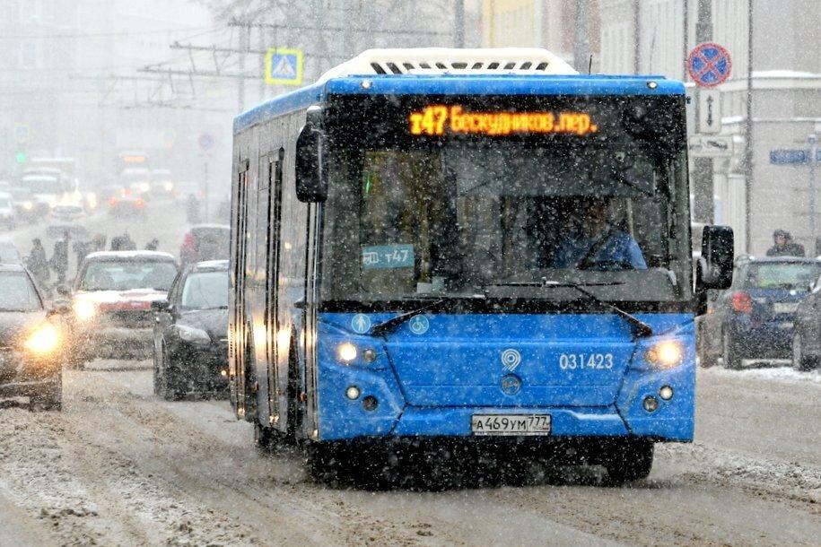 Дополнительную остановку «Метро «Беломорская» ввели на четырех маршрутах автобусов и троллейбусов №58