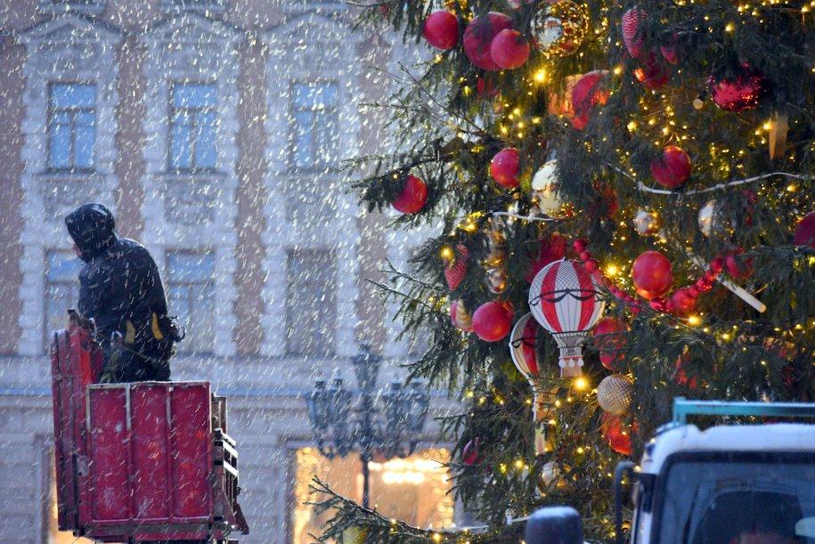 Москва и Краснодарский край входят в топ направлений на новогодние праздники