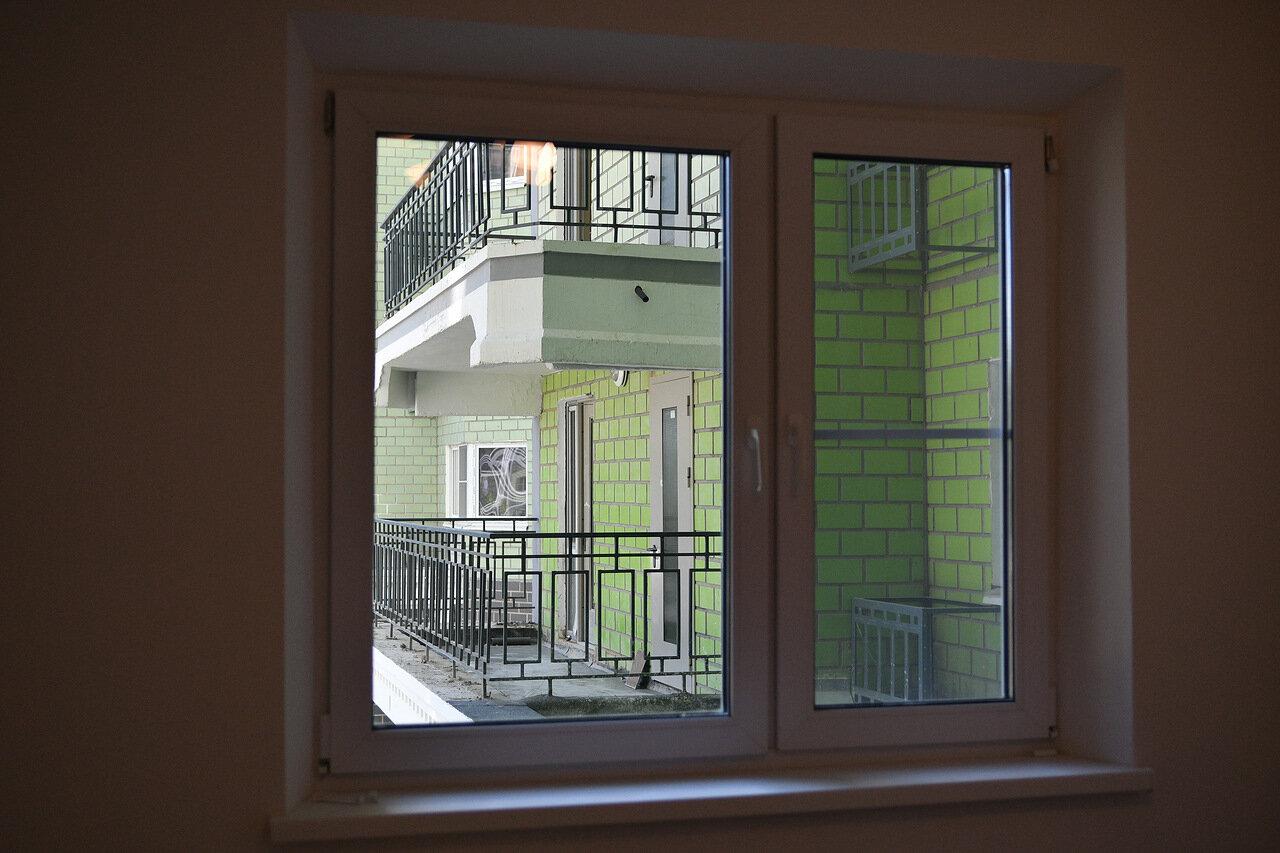 Новый дом на западе Москвы готов к заселению по программе реновации