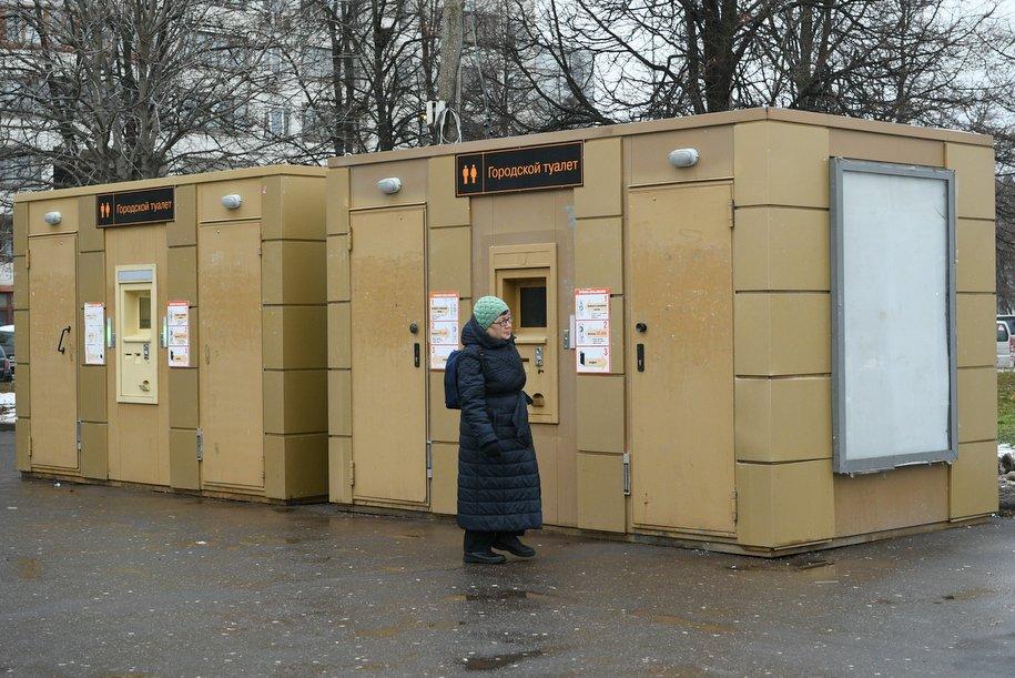 На площадках фестиваля «Путешествие в Рождество» установили почти 130 туалетов