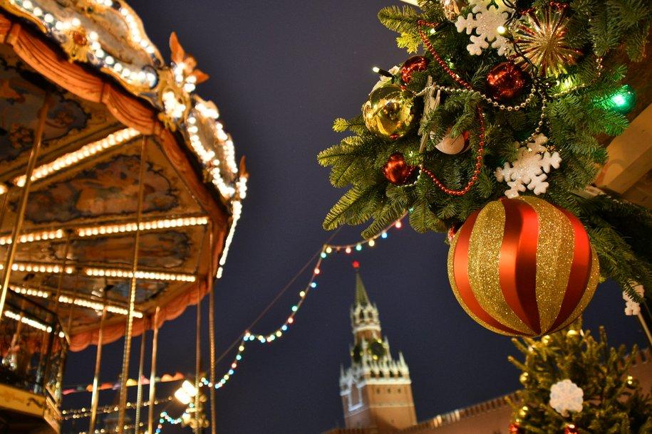 Зимний сезон в Москве превращается в яркий праздник — Собянин