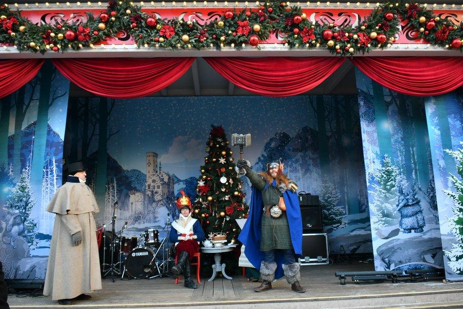 Посетители фестиваля «Путешествие в Рождество» смогут встретиться с представителями разных эпох