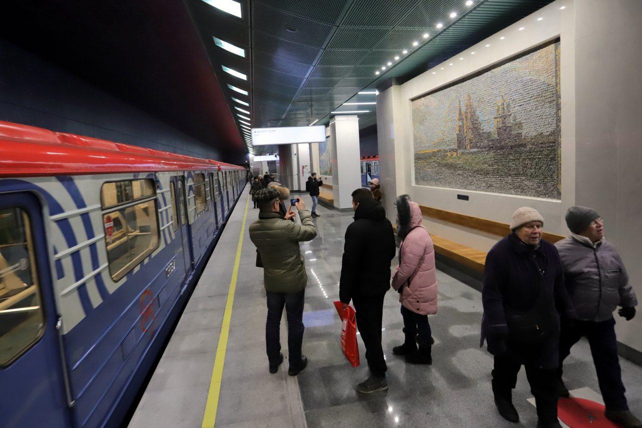 Сергей Собянин назвал 2018 год «годом метро»