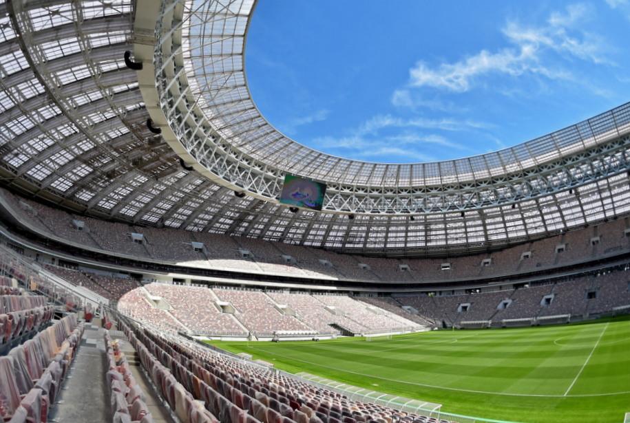 FIFA признала «Лужники» лучшим стадионом в мире по видимости с трибун