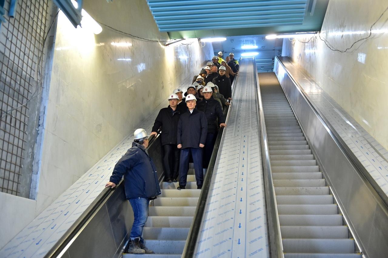 Готовится к открытию станция метро «Беломорская»