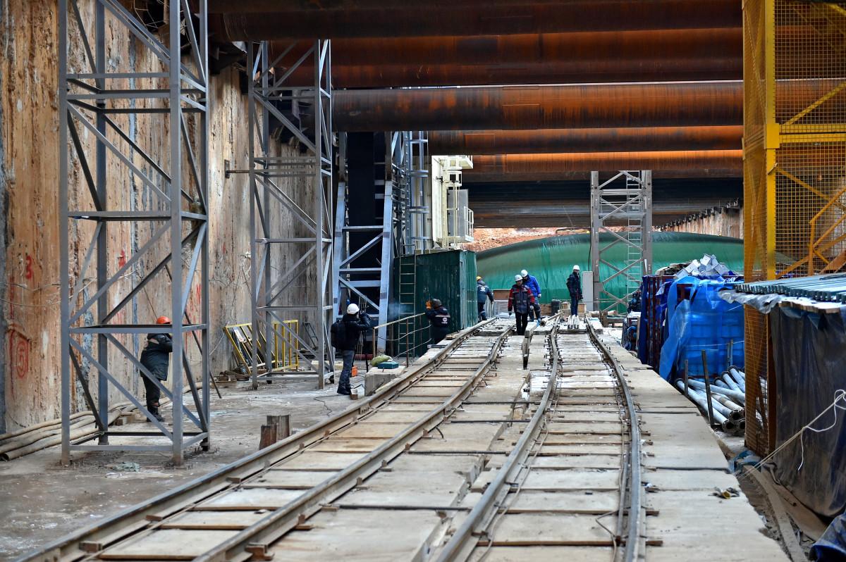 До конца 2021 года планируется завершить строительство западного участка БКЛ