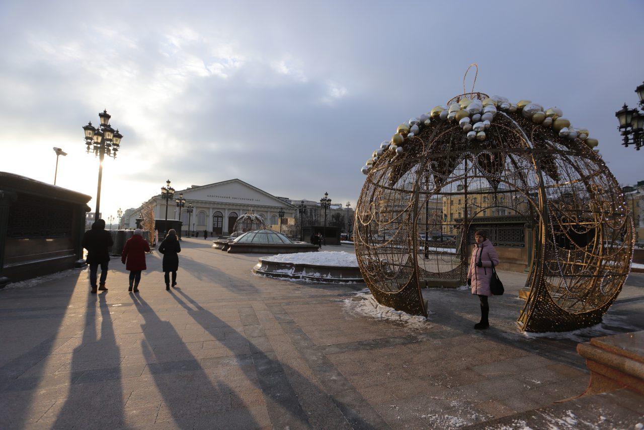 Ближайшая ночь в Москве может стать самой холодной с начала зимы