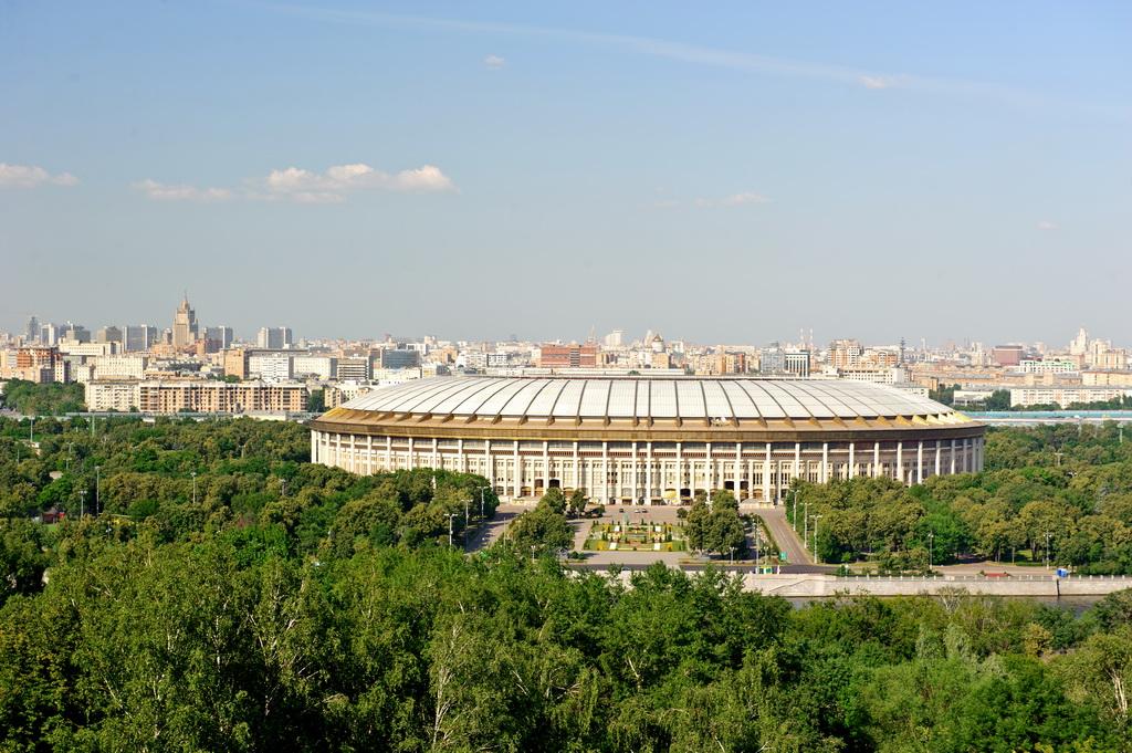 Строительство теннисного центра в «Лужниках» планируют завершить в течение года