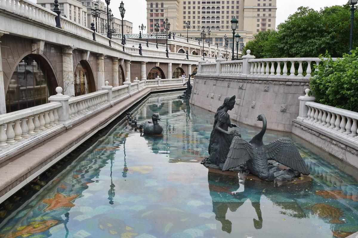 Река Неглинная: своенравная защитница Московского Кремля