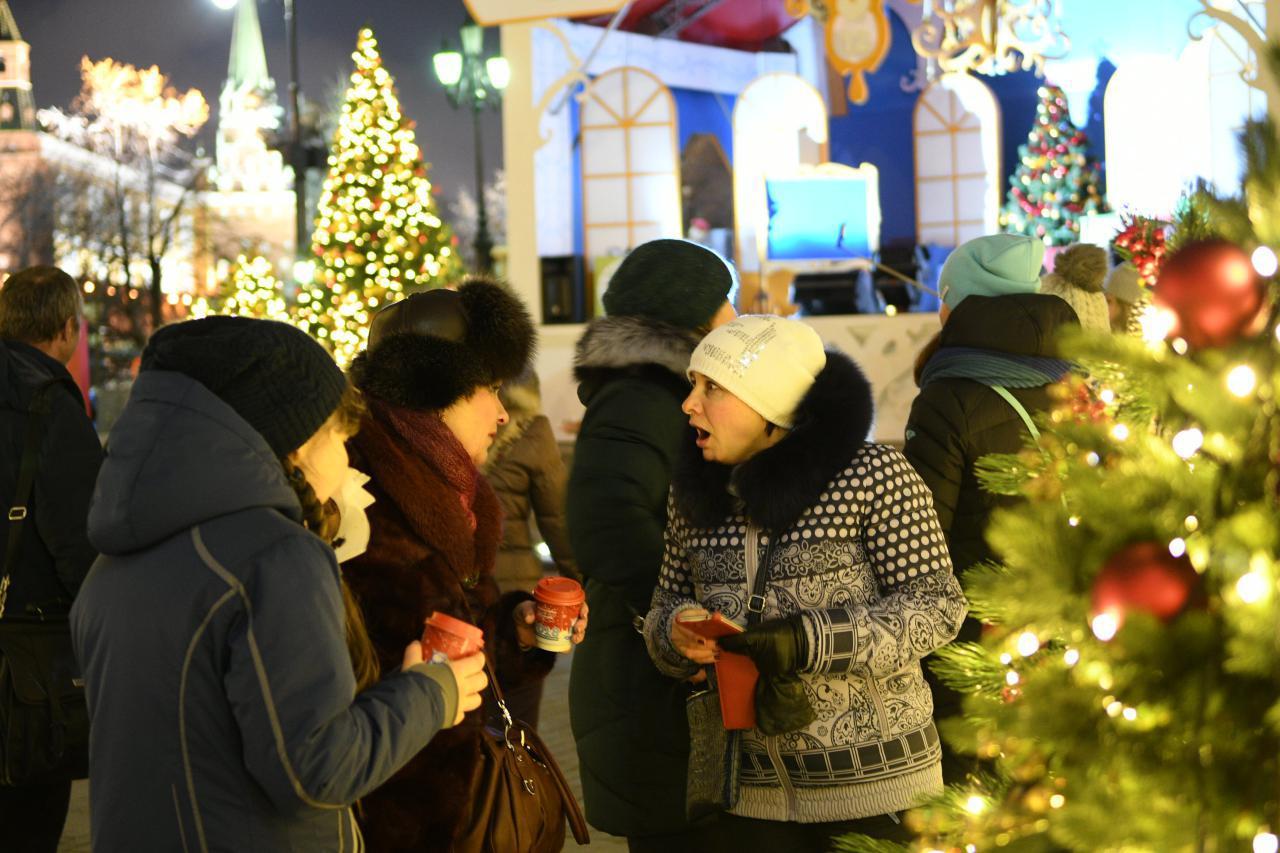 Тверская улица станет пешеходной в новогодние праздники