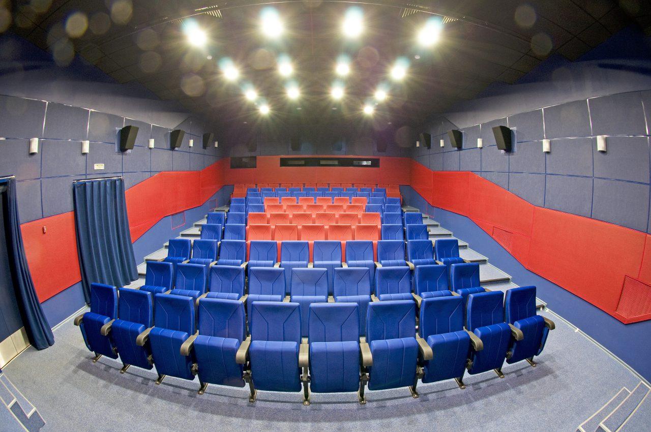 В Доме Журналиста после реставрации открылся кинотеатр