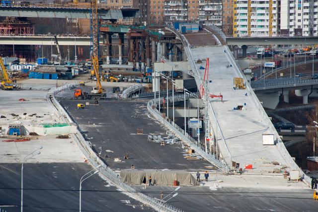 Развязку МКАД с Липецкой улицей реконструируют