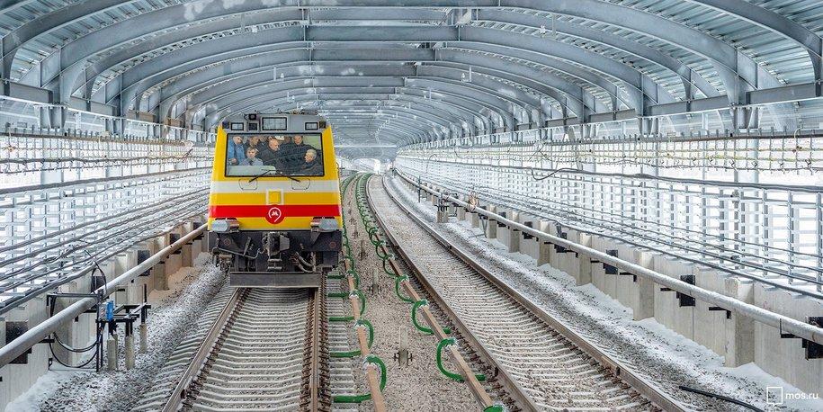 Cергей Собянин провел технический запуск поездов от Саларьево до Коммунарки
