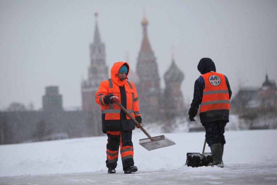 Сегодня в столице ожидается облачная погода и до 8 градусов мороза