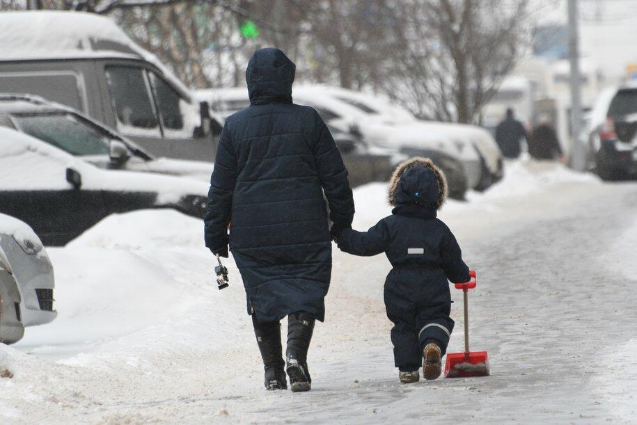 Пик морозов в столице на этой неделе придётся на среду