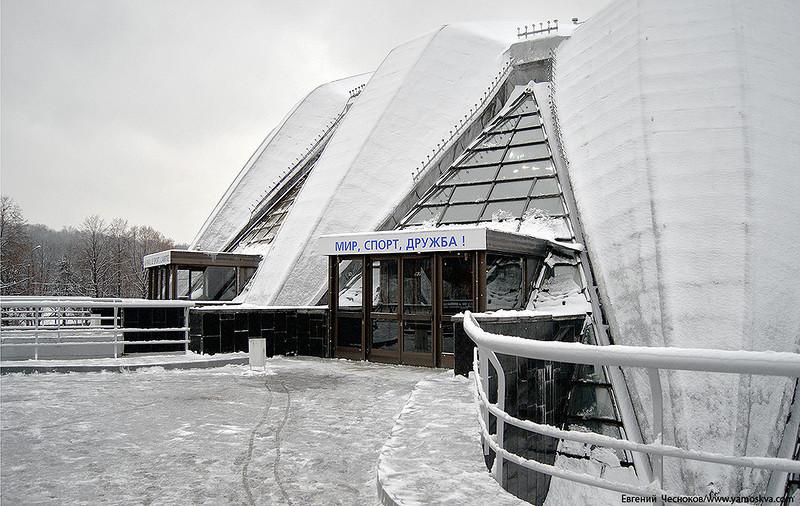 Сергей Собянин рассказал о ходе реконструкции спортивного зала «Дружба»