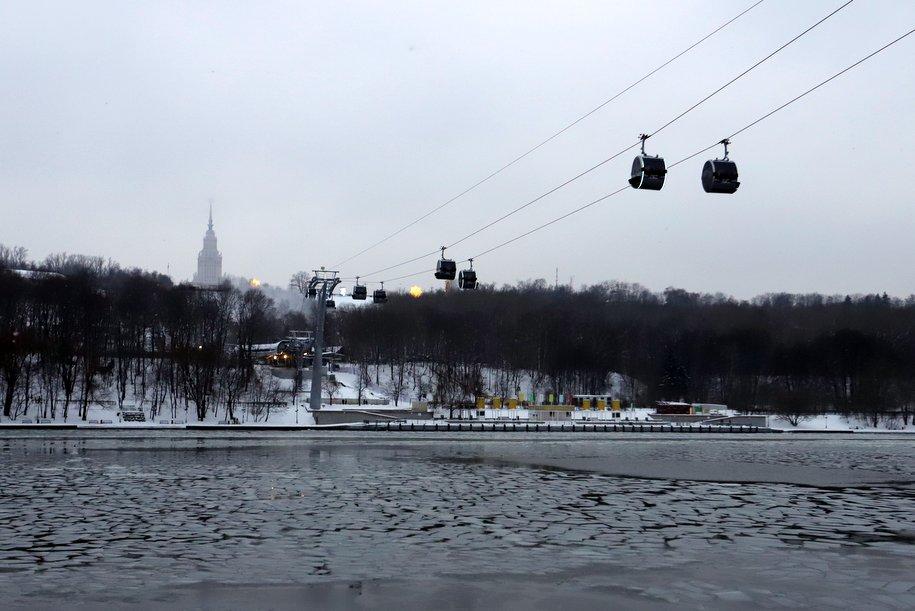 Сегодня в столице ожидается облачная погода и до 7 градусов мороза