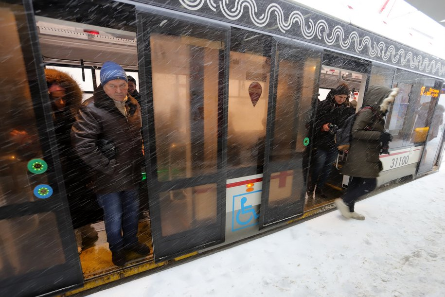 К 2024 году все трамваи в Москве будут удобны для маломобильных пассажиров