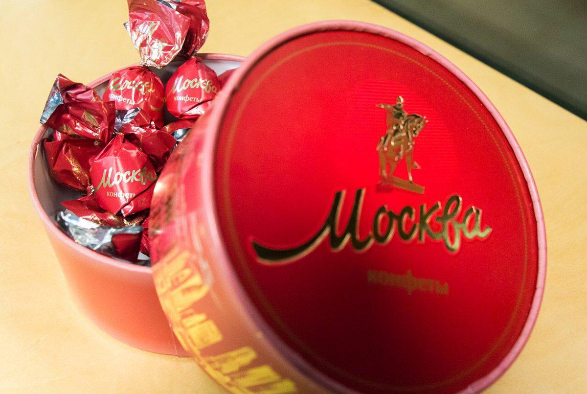 С 2017 года в столице продали более 1,7 млн коробок конфет «Москва»