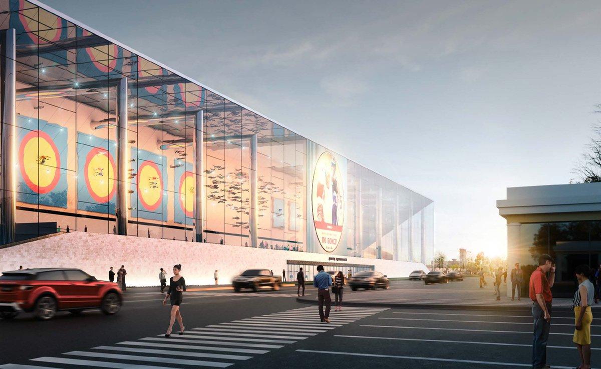 Дворец единоборств будет построен на территории спорткомлекса «Лужники»