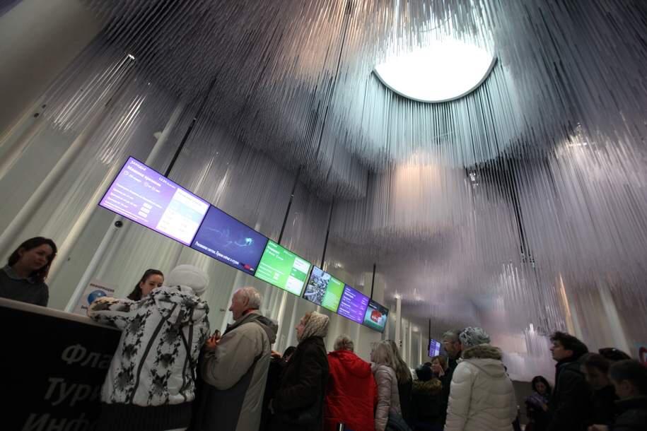Более 25 тыс. человек посмотрели фильм «Полет над Россией» в парке «Зарядье»