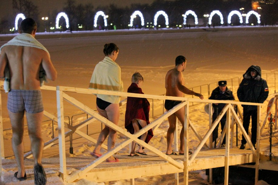 Крещенские купания в Москве пройдут на 59 площадках