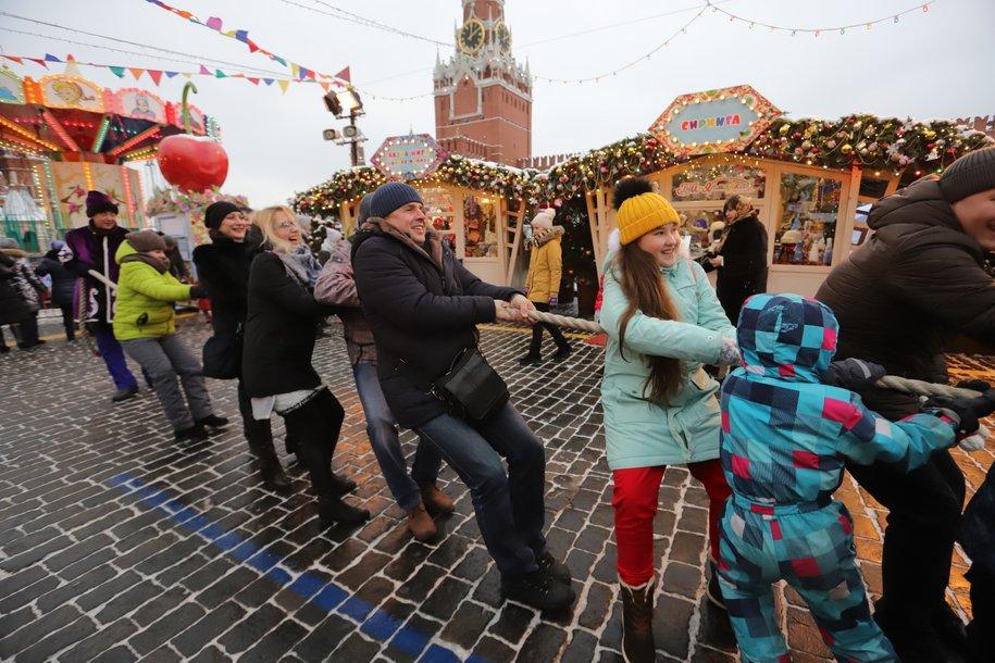Новогодние гулянья в Москве посетили 10,6 млн человек