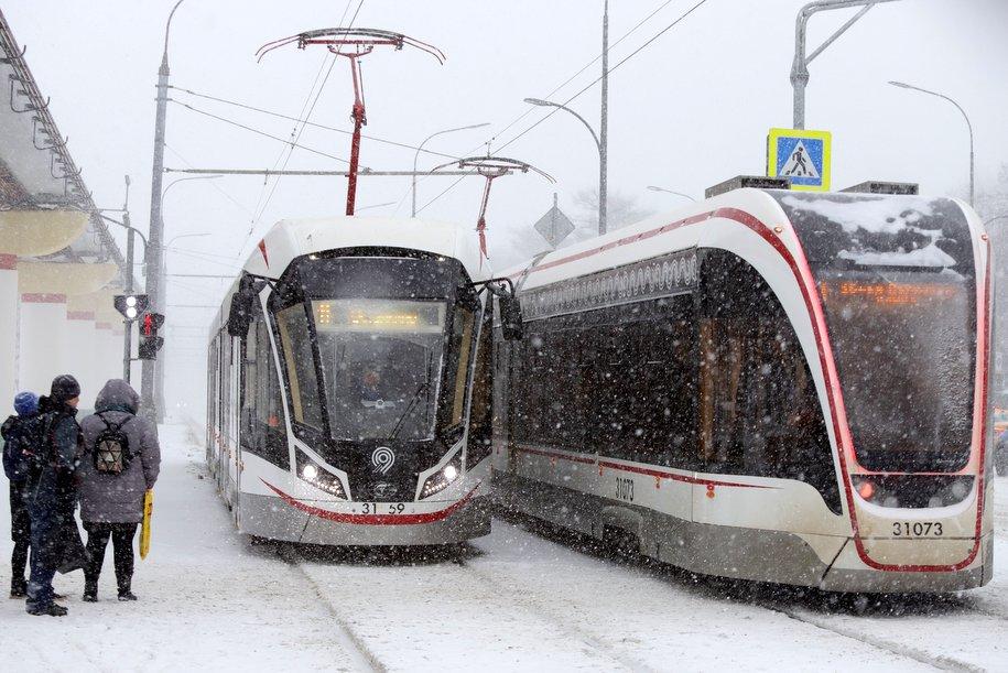 Новые технологии: в столице уложат трамвайные шпалы из композитных материалов