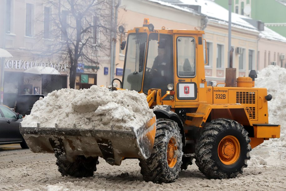 Начавшийся вечером 30 января снегопад может принести до 5 мм осадков