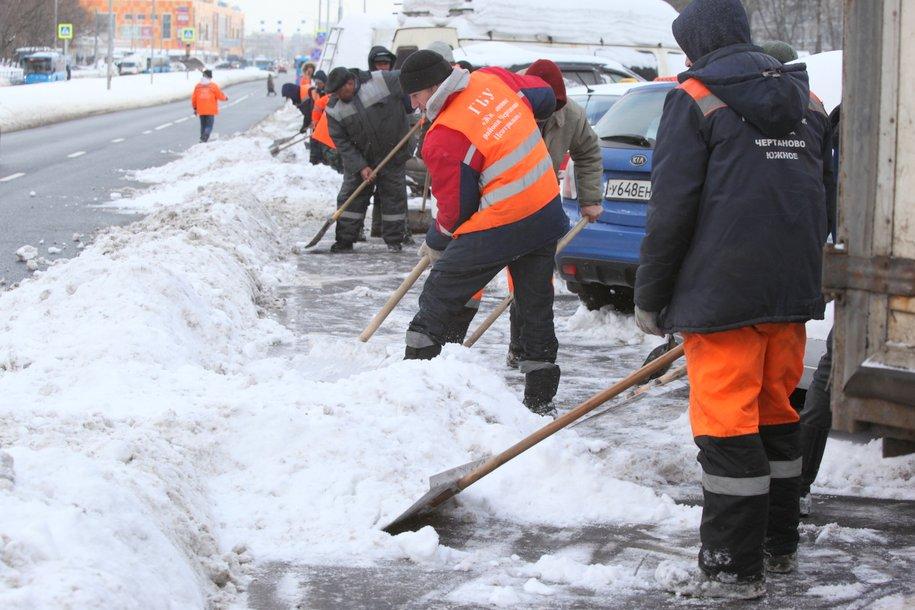 МЧС предупреждает жителей Москвы и области о сильном снеге, метели и порывах ветра до 17 м/с