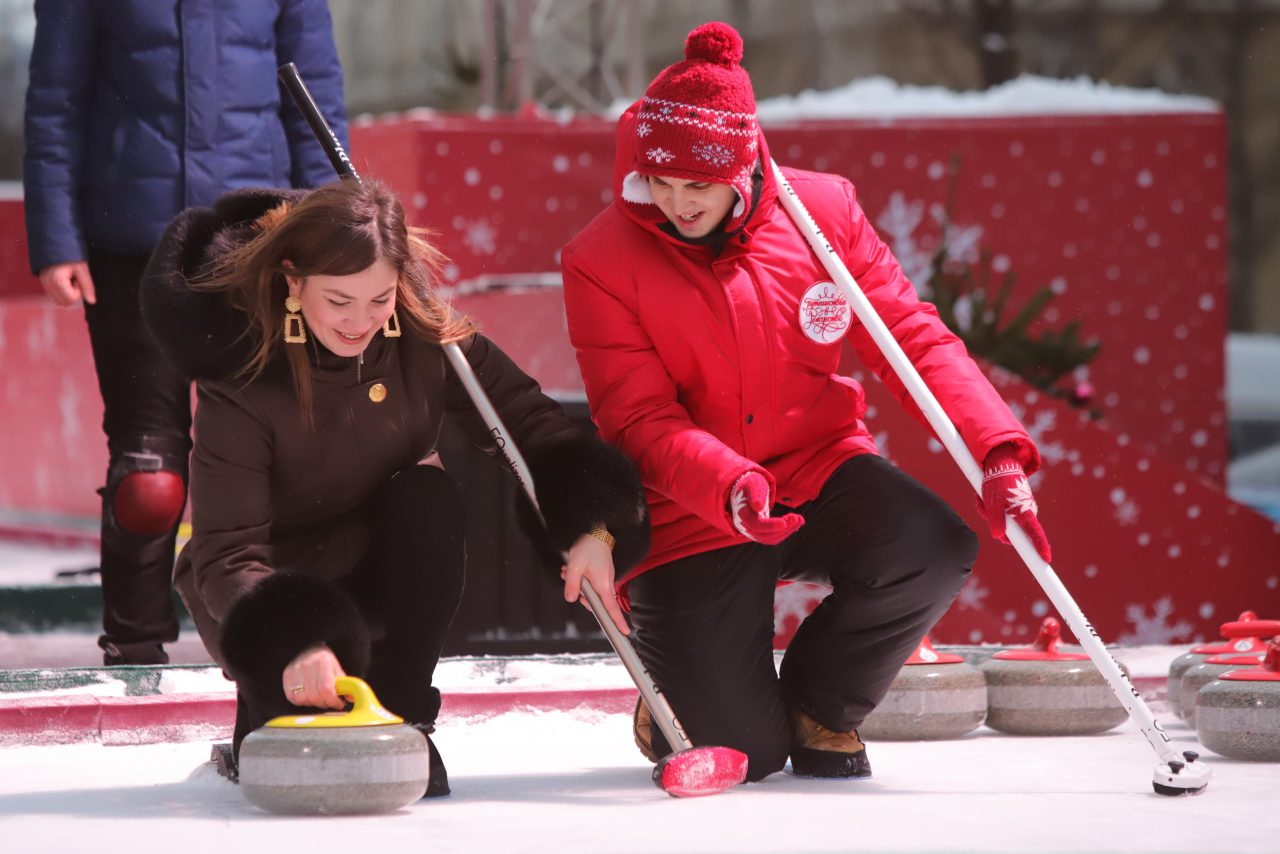 На Красной площади пройдет мировой турнир по кёрлингу