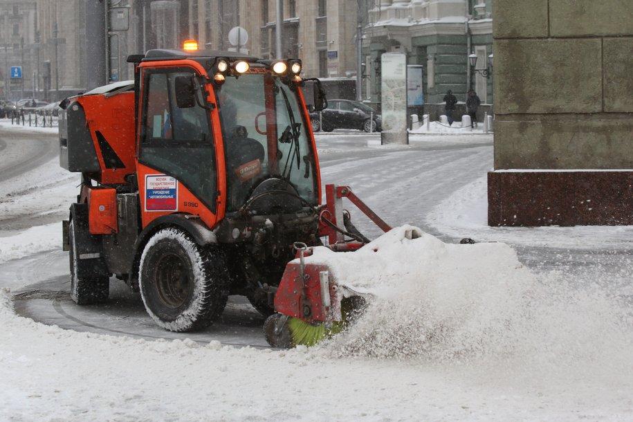 Более 13 млн куб. м снега утилизировано в Москве с начала зимы