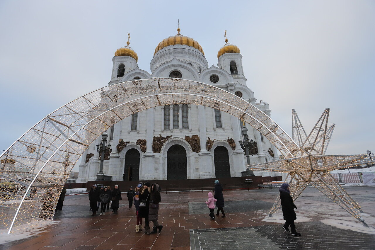Сергей Собянин поздравил москвичей с Рождеством