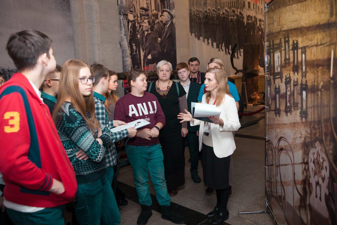 Более тысячи московских школьников участвовали в «Неделе Памяти» в Музее Победы