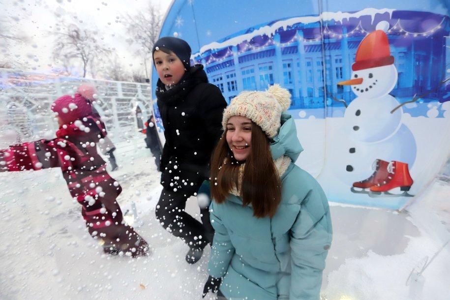 Почти тысяча человек приняли участие в утренних забегах 1 и 7 января в парках Москвы