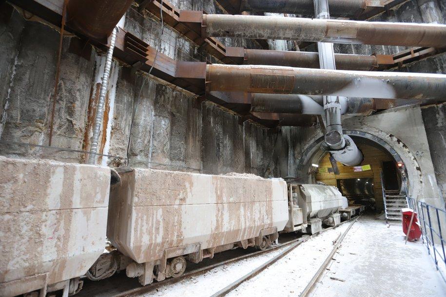 Стартовала проходка левого перегонного тоннеля от «Аминьевского шоссе» в сторону станции «Давыдково»