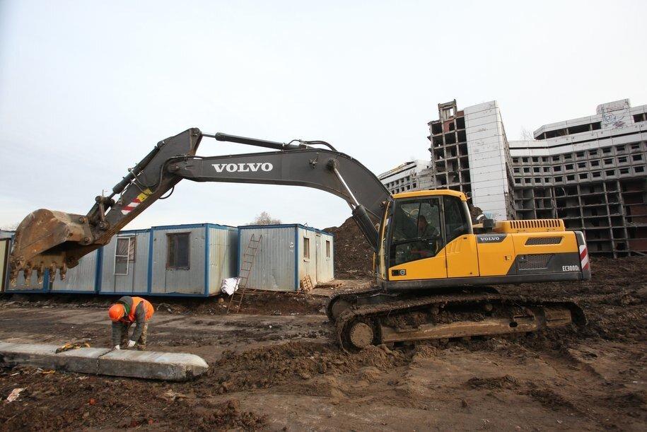 Фундаменты здания Ховринской больницы разберут в феврале