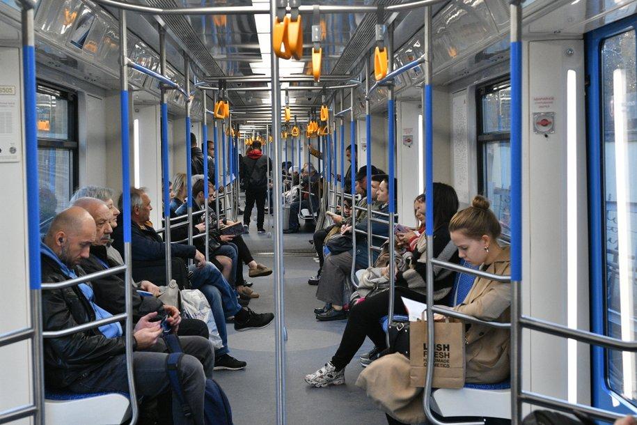 Количество поездов «Москва» в столичном метрополитене увеличено до 105 составов