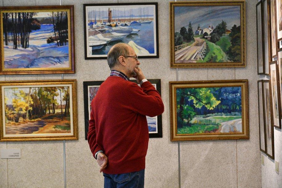 В «Доме на Брестской» открылась выставка «Мир глазами зодчих-2019»