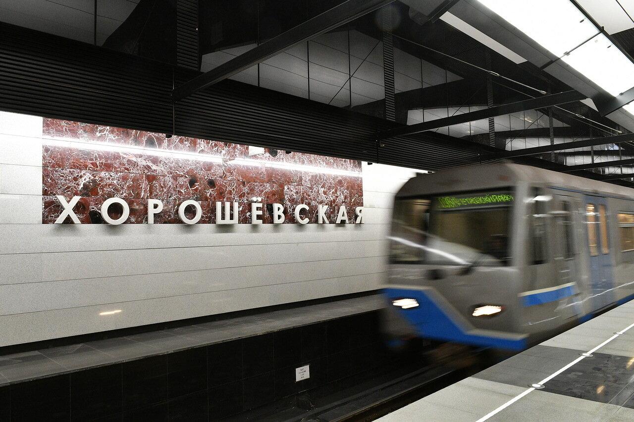 Движение по участку БКЛ от станции «Хорошевская» до станции «Терехово» планируют запустить в конце 2020 года